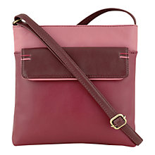 Buy Tula Originals Violet Leather Medium Contrast Stitch Cross Body Handbag Online at johnlewis.com