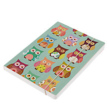 Buy Go Stationery Owl A5 Notebook Online at johnlewis.com