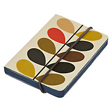 Buy Orla Kiely A7 Notebook Online at johnlewis.com