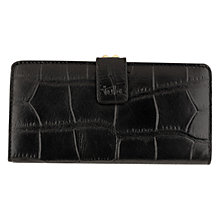 Buy Tula Originals Clipframe Leather Large Matinee Purse, Black Alligator Online at johnlewis.com