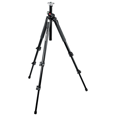 Buy Manfrotto 190L Tall Aluminium Q90 Tripod with 496RC2 QR Ball Head Online at johnlewis.com