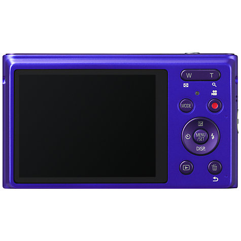 "Buy Panasonic DMC-XS1 Digital Camera, HD 720p, 16.1MP, 5x Optical Zoom, 2.7"" LCD Screen with Leather Case, Violet Online at johnlewis.com"