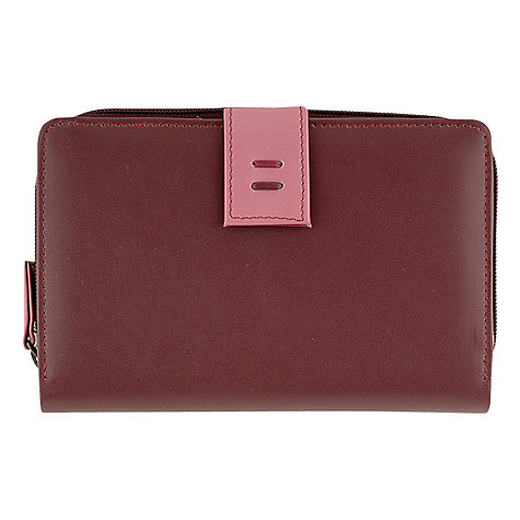 Buy Tula Violet Large Zip Around Purse Online at johnlewis.com