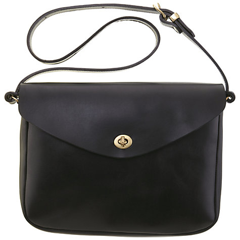 Buy Mimi Berry Frank Leather Medium Shoulder Handbag Online at johnlewis.com