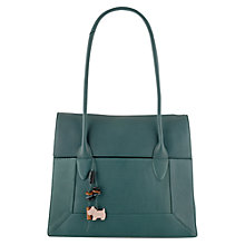 Buy Radley Border Large Flapover Tote Handbag Online at johnlewis.com