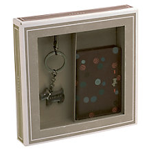 Buy Radley On The Dot Keyring & Card Holder Gift Set, Damson Online at johnlewis.com