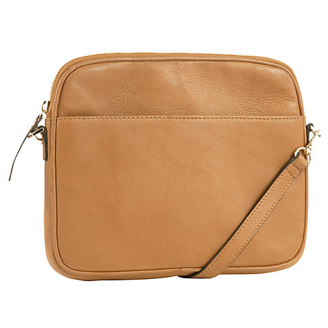Buy COLLECTION by John Lewis Sparky Leather iPad Across Body Bag Online at johnlewis.com