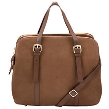 Buy COLLECTION by John Lewis Sparky Leather Shoulder Handbag, Tan Online at johnlewis.com