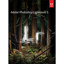 Buy Adobe Photoshop Lightroom 5, Creative Photo Management and Editing Software for Mac & PC Online at johnlewis.com