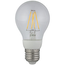 Buy Calex 6.5W ES Filament Energy Saving LED Bulb, Clear Online at johnlewis.com
