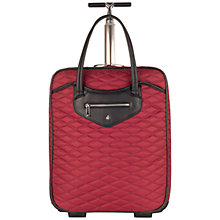 "Buy Knomo Scala 15.4"" Laptop 2-Wheel Cabin Suitcase Online at johnlewis.com"