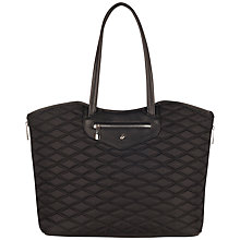 "Buy Knomo Great Portland 15"" Laptop Quilted Tote Bag Online at johnlewis.com"