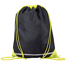 Buy School High Visibility Gym Bag, Navy Online at johnlewis.com