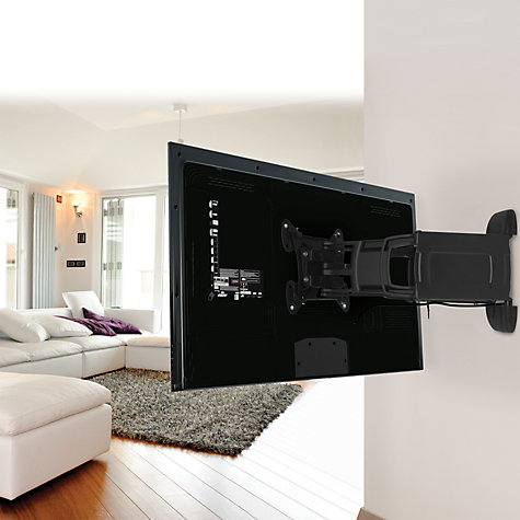 "Buy AVF JNL454 Fully Articulating Wall Bracket for TVs from 26 - 47"" Online at johnlewis.com"