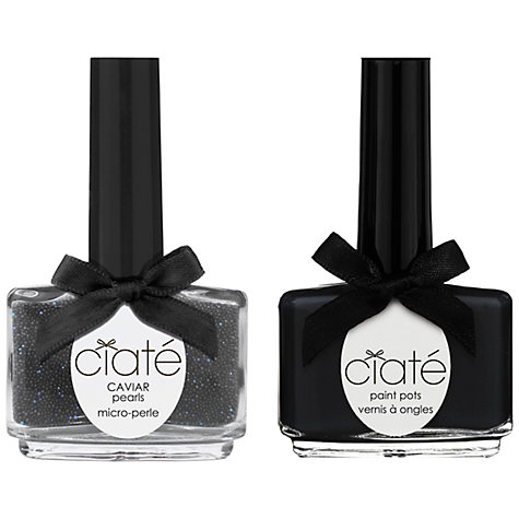 Buy Ciaté Caviar Manicure Set, Black Pearls Online at johnlewis.com
