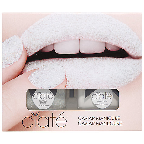 Buy Ciaté Caviar Manicure Set, Mother of Pearl Online at johnlewis.com