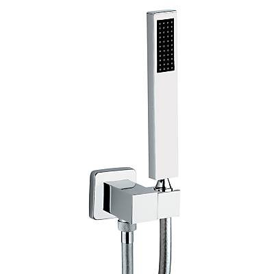 Abode Euphoria Square Combined Wall Outlet, Hose, Handshower and Bracket Kit