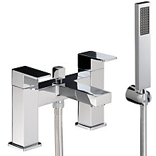 Buy Abode Fervour Deck Mounted Bath Filler Tap Online at johnlewis.com