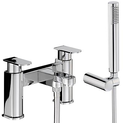 Abode Rapture Deck Mounted Bath/Shower Mixer with Shower Handset