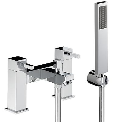 Abode Zeal Deck Mounted Bath/Shower Mixer with Shower Handset
