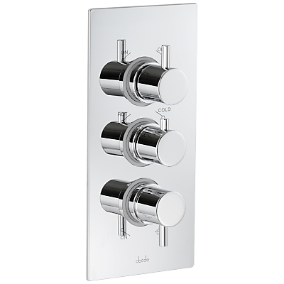 Abode Harmonie Concealed Thermostatic Shower Valve, 2 Independent Exits