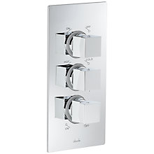 Buy Abode Zeal Concealed Thermostatic Shower Valve, 2 Independent Exits Online at johnlewis.com