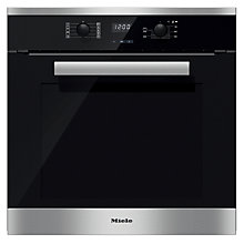 Buy Miele H2661BP PureLine Single Electric Oven Online at johnlewis.com