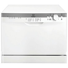 Buy Indesit ICD661 Compact Freestanding Dishwasher, White Online at johnlewis.com