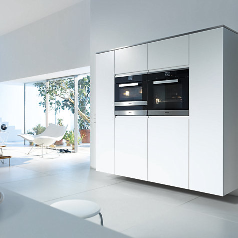 buy miele h6660bp pureline single electric oven clean. Black Bedroom Furniture Sets. Home Design Ideas