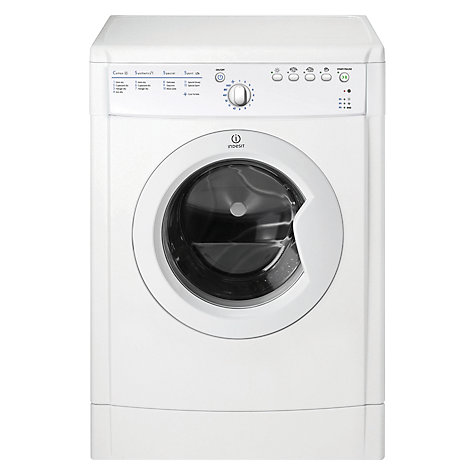 Buy Indesit IDVA735 Vented Tumble Dryer, 7kg Load, B Energy Rating, White Online at johnlewis.com