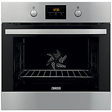 Buy Zanussi ZOP37902XK Single Electric Oven, Stainless Steel Online at johnlewis.com