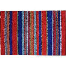Buy John Lewis Striped Washable Doormat, L85 x 60cm, Multi Online at johnlewis.com