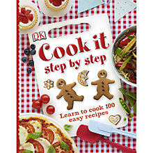 Buy Cook It Step by Step Book Online at johnlewis.com