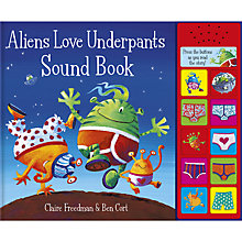 Buy Aliens Love Underpants Sound Book Online at johnlewis.com