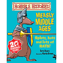 Buy Horrible Histories Measly Middle Ages Book Online at johnlewis.com