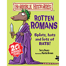 Buy Horrible Histories Rotten Romans Book Online at johnlewis.com
