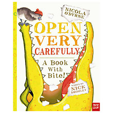 Buy Open Very Carefully Book Online at johnlewis.com