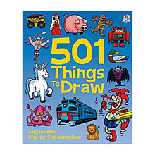 Buy 501 Things To Draw Folder Online at johnlewis.com