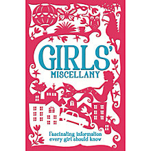 Buy Girls' Miscellany Book Online at johnlewis.com