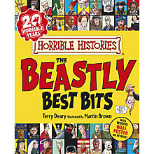 Buy Horrible Histories Beastly Best Bits Book Online at johnlewis.com