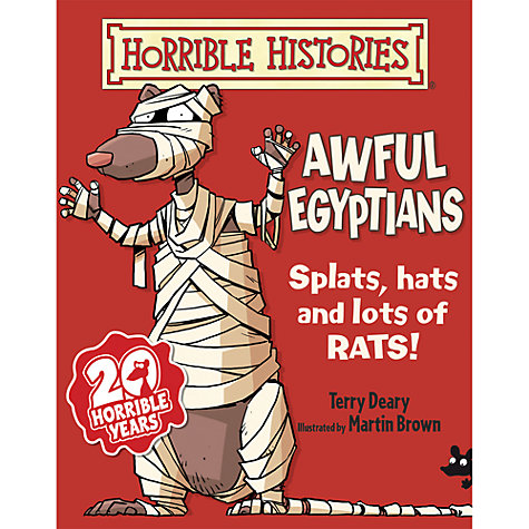 Buy Horrible Histories Awful Egyptians Book Online at johnlewis.com