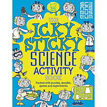 Buy Science Museum Icky Sticky Activity Book Online at johnlewis.com
