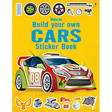 Buy Build Your Own Cars Sticker Book Online at johnlewis.com