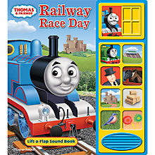 Buy Thomas the Tank Engine Railway Race Day Sounds Book Online at johnlewis.com
