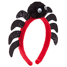 Buy John Lewis Girl Spider Alice Band, Black Online at johnlewis.com