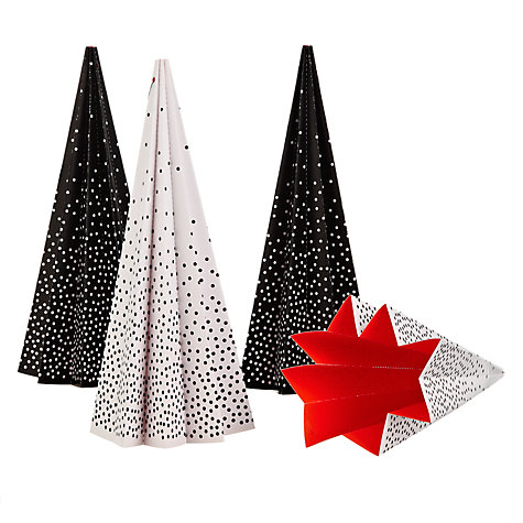 Buy Livingly Pleated Christmas Tree, Set of 4 Online at johnlewis.com