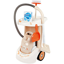 Buy Smoby Cleaning Trolley Online at johnlewis.com