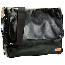 Buy Storksak Dori Changing Bag, Black/Tan Online at johnlewis.com