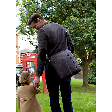 Buy Storksak Jamie Changing Bag, Black Online at johnlewis.com
