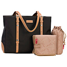 Buy Storksak Gigi Changing Bag, Chocolate Online at johnlewis.com